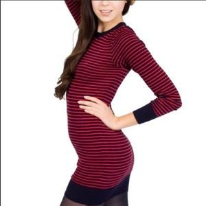 American apparel striped sweater dress (size S)